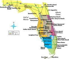 Florida Skateparks Map.Florida Fl Skate Parks List